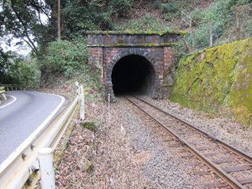 煉瓦作トンネル