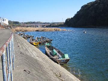 ③球磨川下り発船場